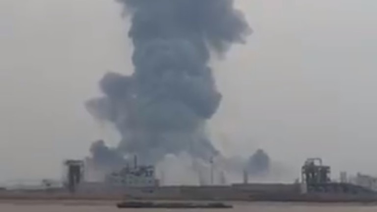 Силна експлозия разтърси завод за химикали в Източен Китай. Най-малко
