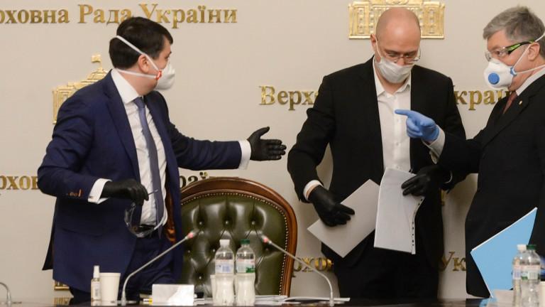 Върховната Рада подкрепи оставката на министъра на здравеопазването на Украйна