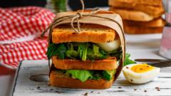 Гурме сандвич с две приложения