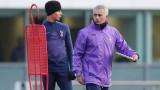 Четирима футболисти на Тотнъм тренираха пред погледа на Жозе Моуриньо