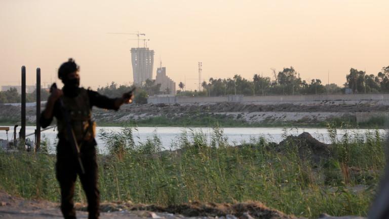 Международното летище в Багдад беше обстреляно с ракети. Това съобщи