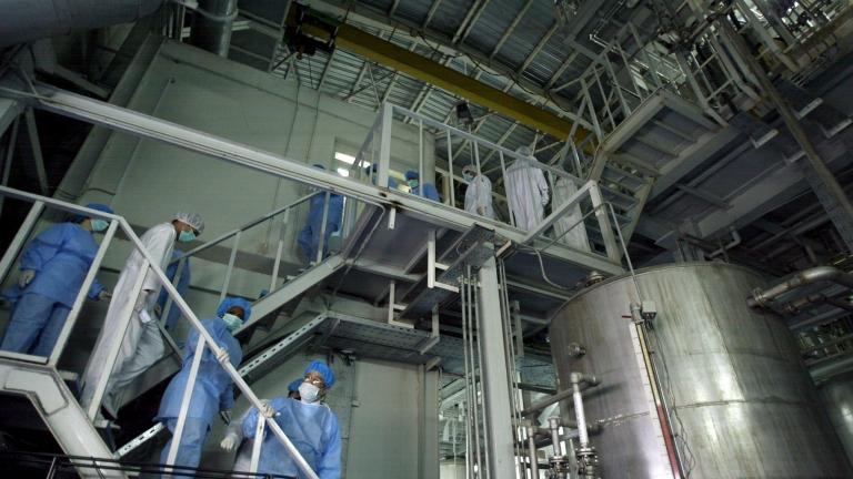 МААЕ: Иран е натрупал обогатен уран 8 пъти повече от допустимото