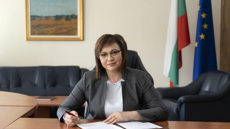 Нинова: Парламентът се превърна в място за приемане на лобистки закони