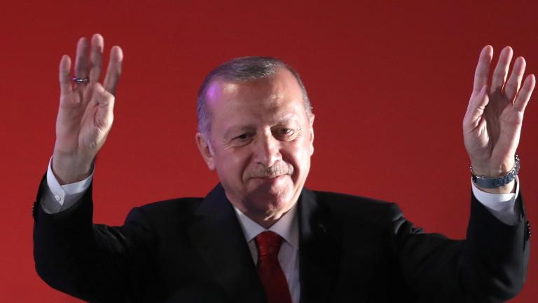 Президентът на Турция Реджеп Ердоган заяви, че закупената руска зенитно-ракетна