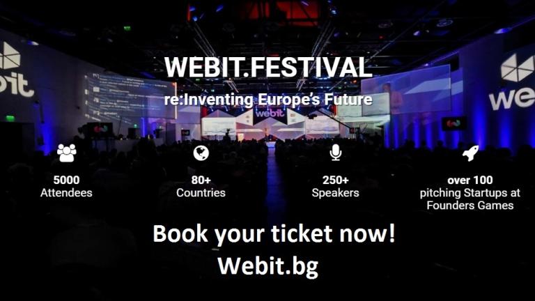 Webit ще раздаде годишните си награди по време на бляскава церемония
