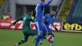 Изнервените футболисти на Левски отсвириха журналистите