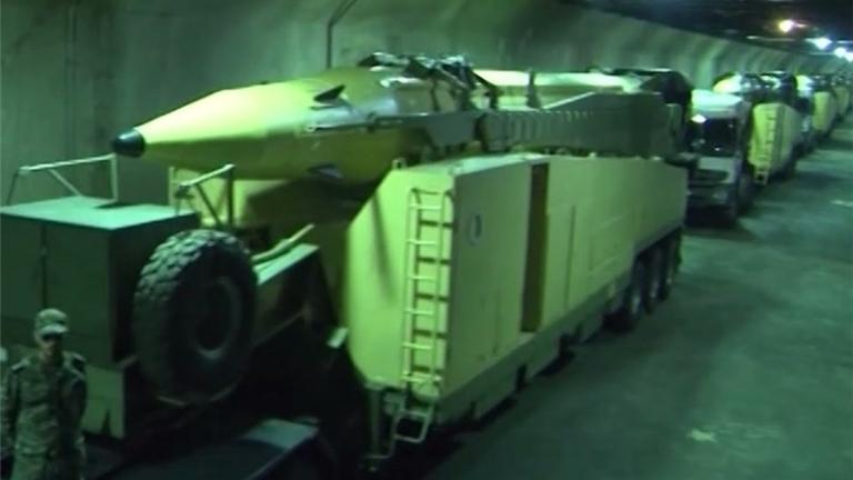 Иран пусна видео с изстрелването на ракетите към базите на САЩ