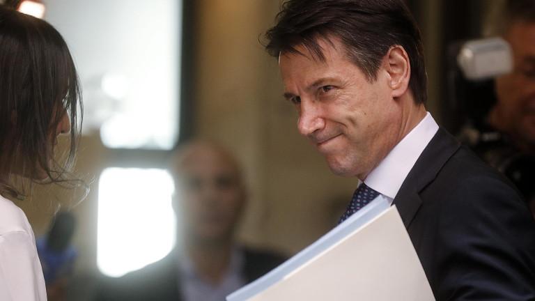 Италия няма да напусне ЕС и еврозоната. Това увери премиерът