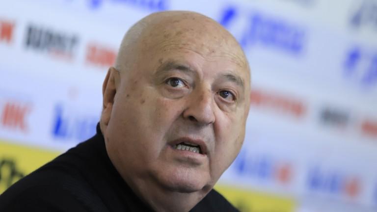 Венци Стефанов: БФС не е дойна крава, един мъж трябва да има здрави гащи