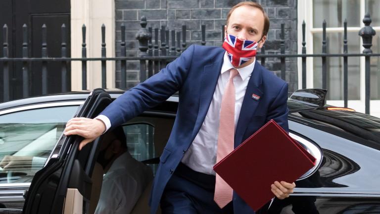 Епидемията на Covid в Англия нараства - като голяма част