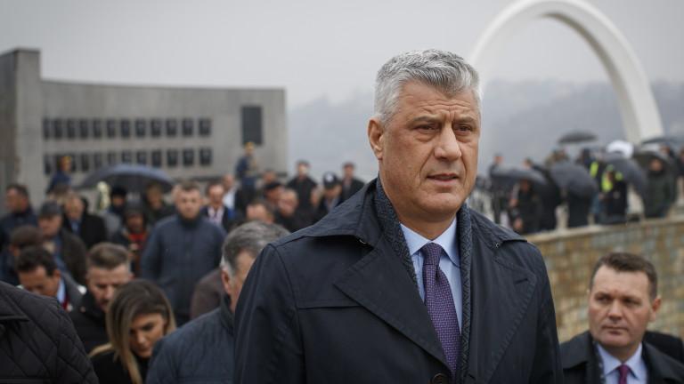 Срещата между Косово и Сърбия в Белия дом отменена след обвиненията срещу Тачи