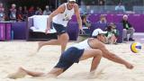 Бразилци срещу германци на финала по плажен волейбол