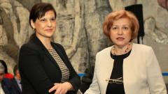 Дариткова определя за важна подкрепата на СДС и силния капитан Борисов
