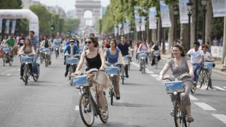Париж си отдъхна от трафика