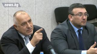 Борисов: Всеки един танкер се извежда в центъра и всяка една лодчица се записва
