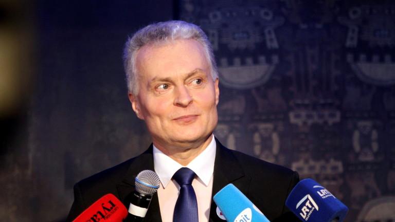Гитанас Науседа е новият президент на Литва