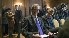Фараж бяга от Великобритания, ако настъпи катастрофа след Брекзит