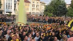 """Ултрасите на Ботев на тур: Спретнаха номер на полицаите, 150 очакват """"канарчетата"""" в Тирана!"""