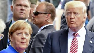 Тръмп трябва да бъде уважаван като президент на САЩ, смята Меркел