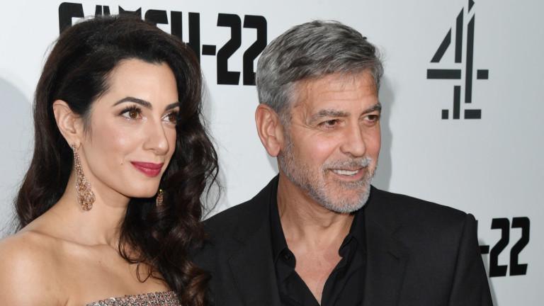 Джордж Клуни за живота преди и след Амал