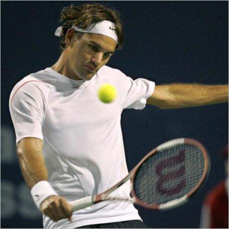 Федерер се класира на 1/4-финал без да играе