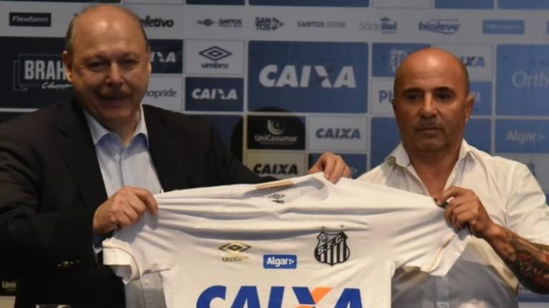 Аржентинецът Хорхе Сампаоли е новият треньор на бразилския Сантос, съобщиха
