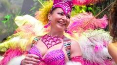 Ето я първата българка, допусната на карнавала в Рио!