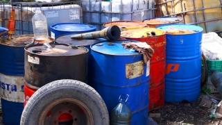 "Близо 8 тона нелегално гориво откриха до язовир ""Огоста"""