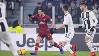 Ювентус - Рома 1:0, гол на Манджукич