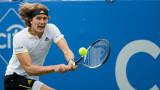 Александър Зверев на финал срещу Роджър Федерер в Монреал