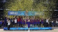 Барселона спечели баскетболната Купа на Краля след драма срещу Реал (Мадрид)