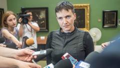 Савченко обяви нова гладна стачка заради бездействие на Порошенко