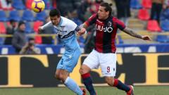 Лацио победи Болоня с 2:0 като гост