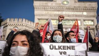 Политически опоненти стоят зад студентските протести, вярва Ердоган
