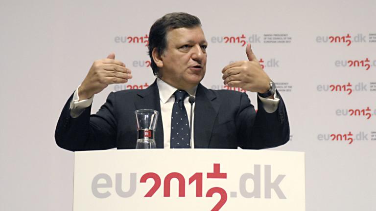 Снимка: Жозе Мануел Барозу предвижда отлагане на Брекзит