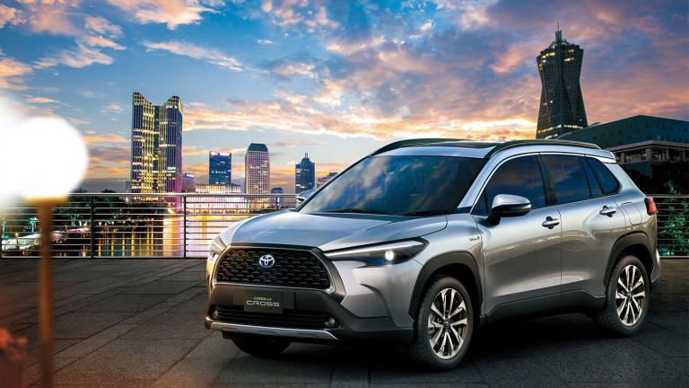 Toyota представи нов компактен кросоувър , създаден на базата на