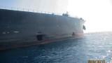 Иран публикува снимки с ударения танкер