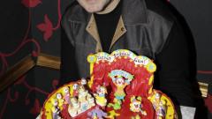 Глезят Драго Чая с торта цирк