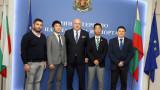 Министър Кралев се срещна с представители на японската префектура Окаяма