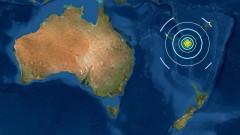 Цунами след много силно земетресение в Тихия океан