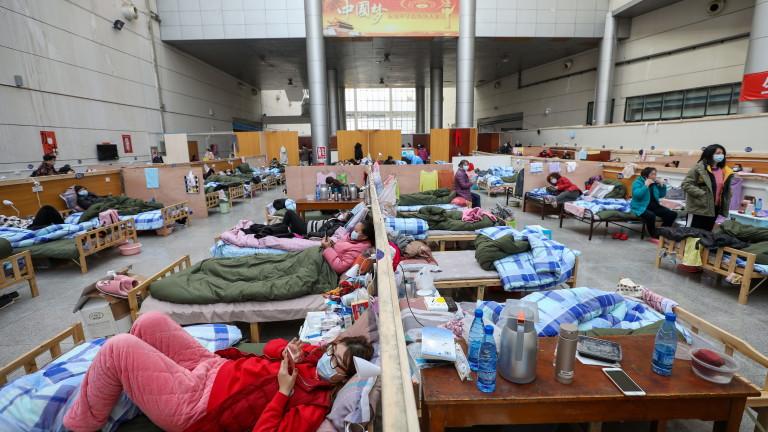Спад на заболелите от коронавирус в Китай, но се увеличиха в Южна Корея и Иран