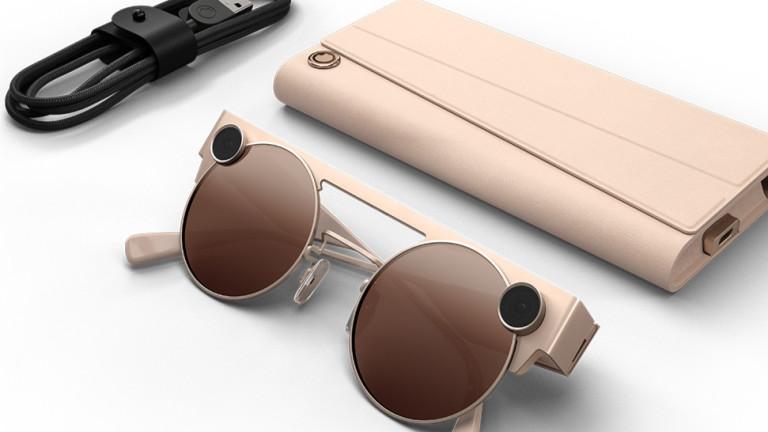 Снимка: Компанията зад Snapchat разработи очила за 3D видео