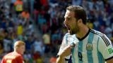 В Аржентина се нахвърлиха срещу Игуаин и Паласио