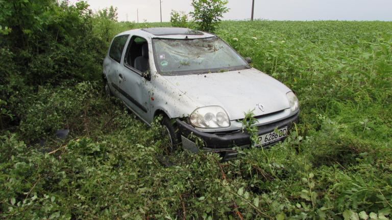 Двама ранени при катастрофа на пътя Русе-Разград