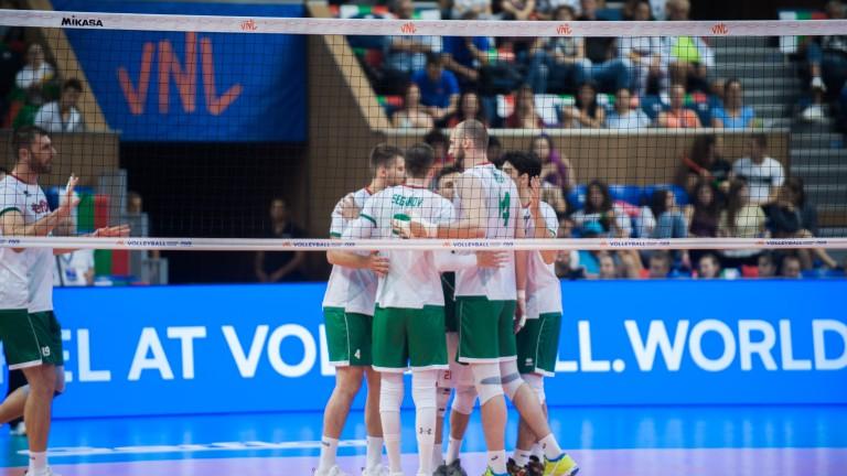 Българският национален отбор по волейбол започна с успех домакинския си