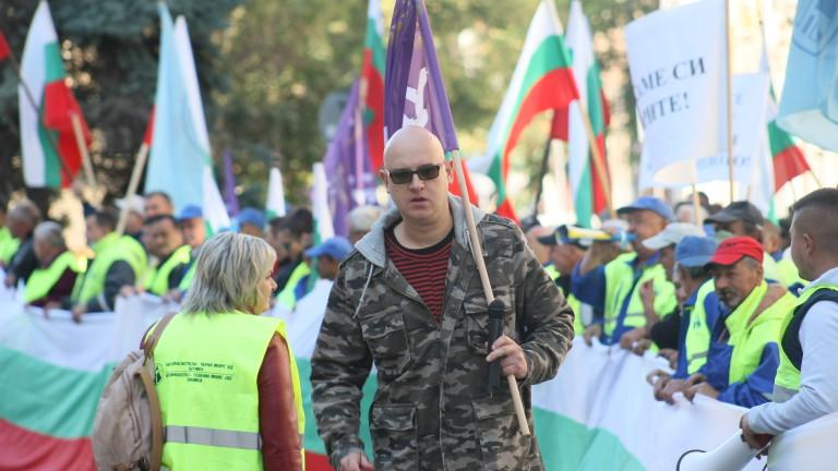 МРРБ: Пътищата нямат партиен цвят, но протестът е политически