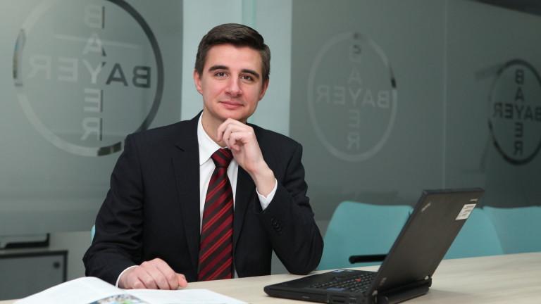 От месец май тази година Ивелин Кирчев е новият ръководител