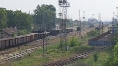 """Товарен влак дерайлира в района на столичната гара """"Илиянци"""""""