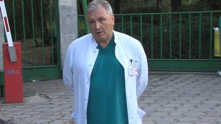 Първа белодробна трансплантация в България