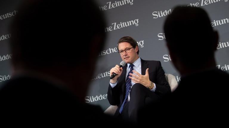 Министърът на транспорта на Германия Андреас Шойер изрази намерението си